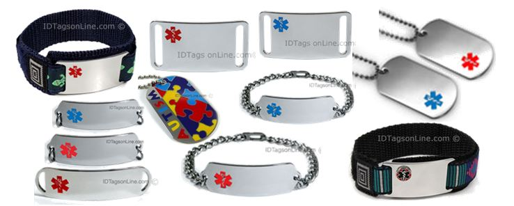 Medical Id Bracelets and Dog Tags store